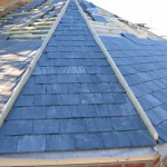 An example of a natural slate roof